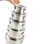 Boite cylindre La Retro Mini . Diam 10cm