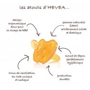 Tétine Physiologique 3 m+ - VOITURE - HEVEA
