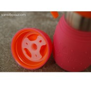 SAFE SIPPY 2 - Gourde anti-fuite - MYRTILLE - KID BASIX
