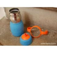 SAFE SIPPY 2 - Gourde anti-fuite - BLEU - KID BASIX