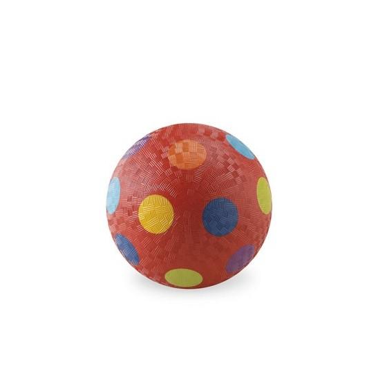 Balle 13 cm - ROUGE MULTI-POIS - CROCODILE CREEK