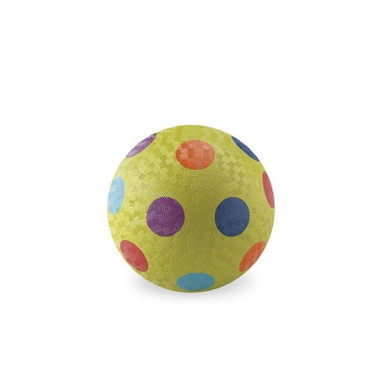 Balle 13 cm - VERT MULTI-POIS - CROCODILE CREEK