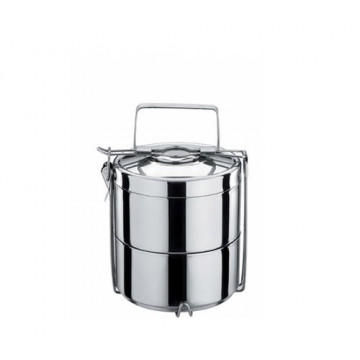 Tiffin isolé inox 2 étages