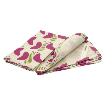 Serviette Set de table coton - Papillons - KIDS KONSERVE