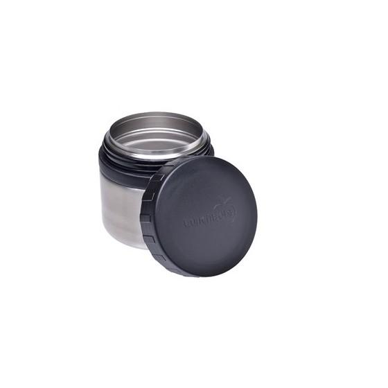 DUO P'TITS POTS - Lot 2 boites hermétiques tout inox - Black - LUNCHBOTS