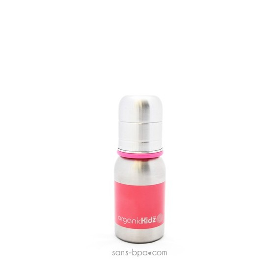Biberon Little Rose - 120 ml goulot étroit - Organic Kidz