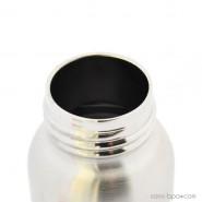 Biberon inox Isotherme Goulot Etroit 270 ml - POIS BLEUS - ORGANIC KIDZ