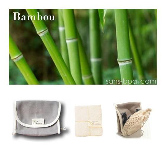 Kit Eco Belle Nomade - Bambou - LES TENDANCES D'EMMA