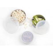 Lot 3 couvercles de rechange Cristal - Modèle médium - Pomme- KIDS KONSERVE