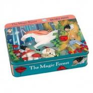 Puzzle boite métallique - Forêt Magique - Mudpuppy