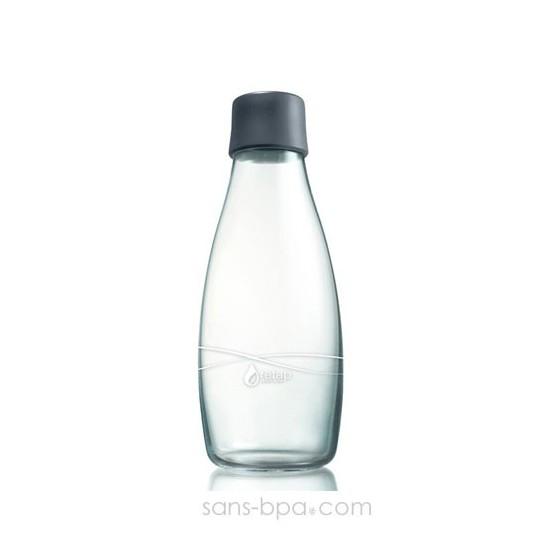 Bouteille verre 800 ml - Grey - RETAP