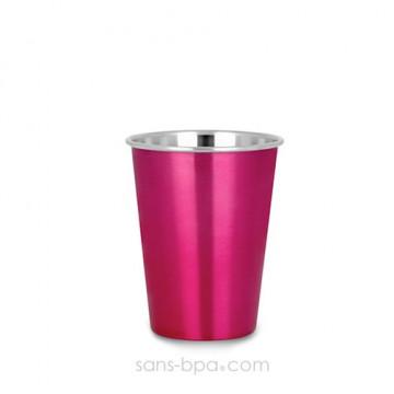 Verre inox 350 ml PINK