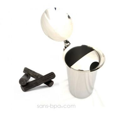 Carafe inox filtrante 1,9 L & son filtre charbon