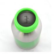 Biberon Pois verts - 200 ml goulot étroit - Organic Kidz