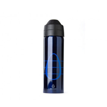 Gourde isotherme anti-fuite 600ml BLUE-BLUE