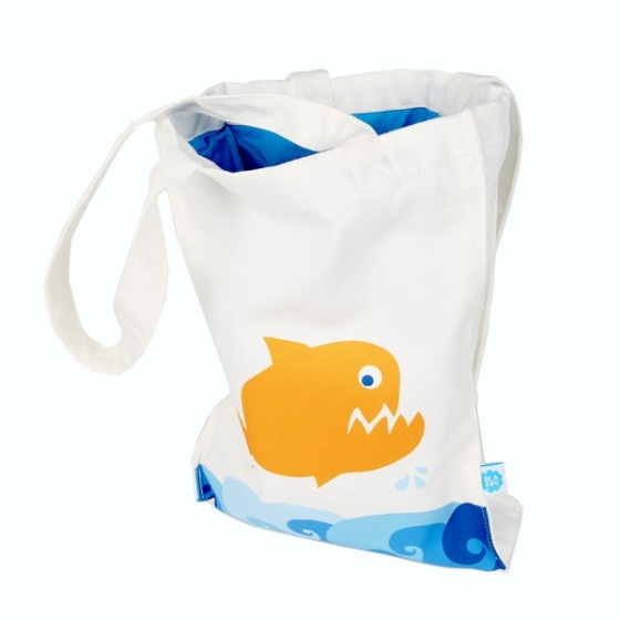 Grand sac tissu - HERISSONS - Blafre