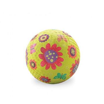 Balle caoutchouc 13 cm FLEUR