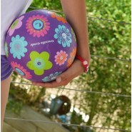 Ballon 18 cm - ROUGE MULTI-POIS - CROCODILE CREEK
