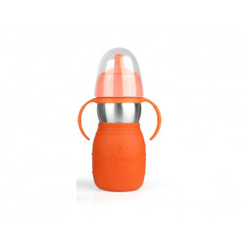 Safe Sippy anti-fuite 330ml ROUGE