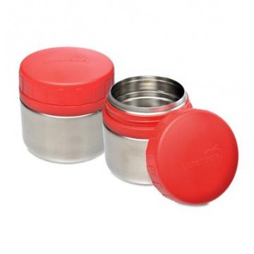 2 Ptits Pots inox ROUGE