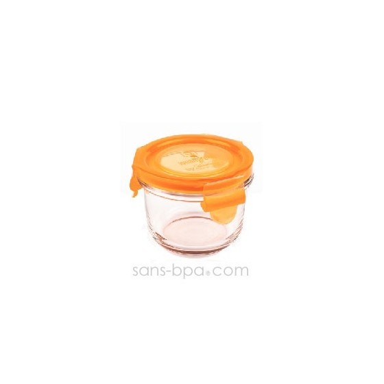 Contenant verre Wean Bowl 165ml - Framboise
