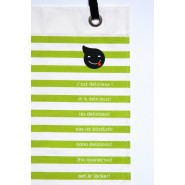 Serviette de table Napkid Vert Anis BIO