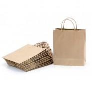 Pochette cadeau kraft 32 x 25