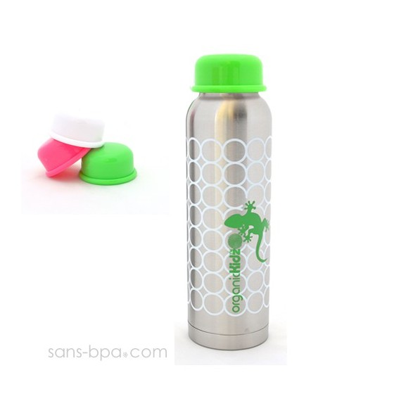 Bouteille isotherme 270ml GECKO