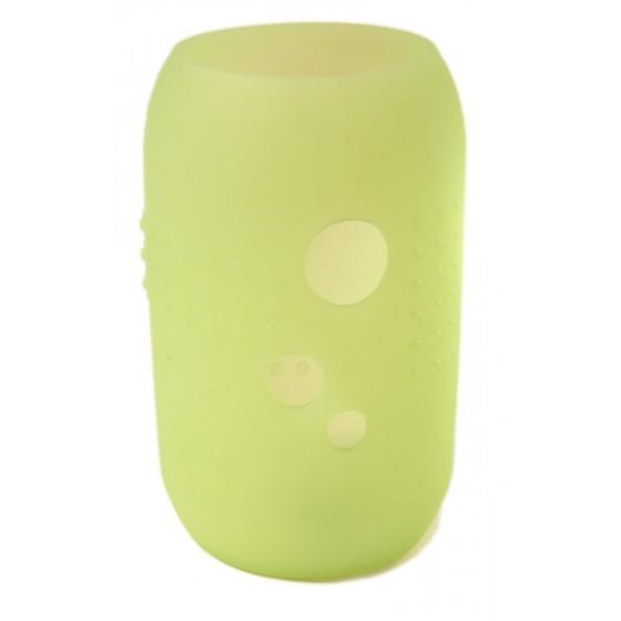 Gaine Citron Vert pour biberon & verre en verre SILISKIN de SILISKIDS