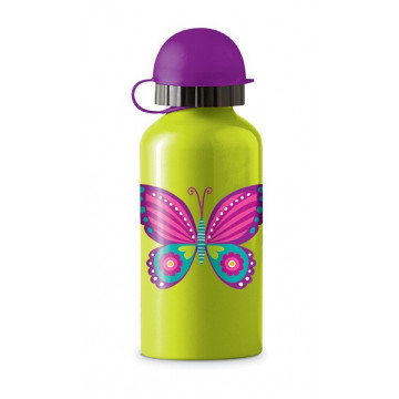 Gourde inox 400ml BUTTERFLY