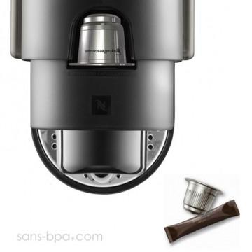 Set capsule inox Nespresso - STARTER