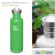 Gourde inox 800 ml GREEN