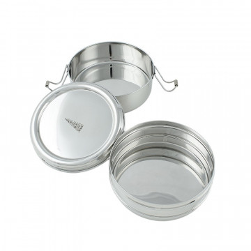 Set inox 2-en-1 Rond - A slice Of Green