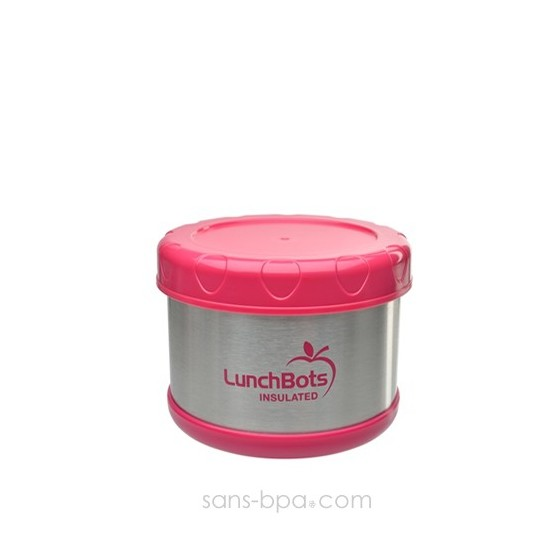 Boite repas isotherme 500 ml PINK