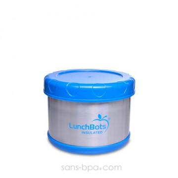 Boite repas isotherme 500 ml BLEU AZUR