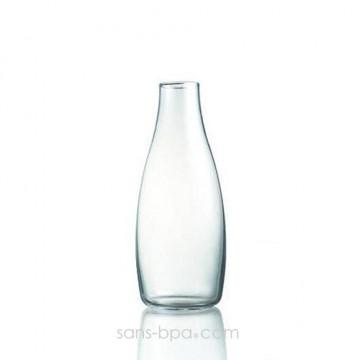 Gourde verre 500 ml AZUR